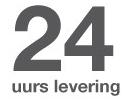 24-uurs levering
